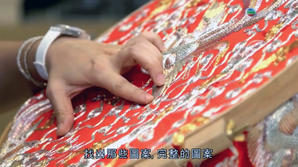 heritage ReFashioned kwan kwa clutches on TVB 粵講粵㜺鬼